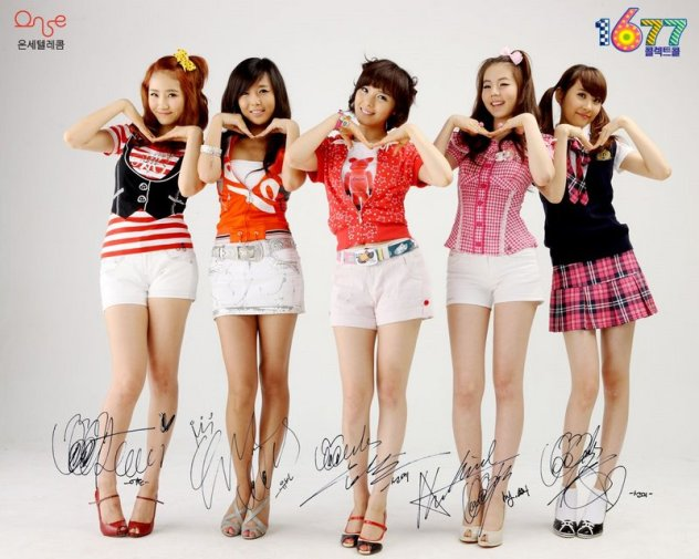 Wonder Girls ห้าสาวน้อยมหัศจรรย์ นักร้องเกาหลี