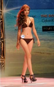 วงในกล่าวว่าหวี่งแท็งเตวี๋ยน (Huynh Thanh Tien) รองมิสซูเปอร์โมเดล 2009 ก็อยู่ในบัญชีถูกปัดฝุ่นอีกคนหนึ่งไปประกวด Miss Bikini International ที่ไหหลำเมื่อต้นปี โรคหวัดสายพันธุ์ใหม่ระบาดหนักต้องเลิกรากันไป สาวเตวี๋ยนเพิ่งเข้าห้องหอกับเสี่ยใหญ่เจ้าบ่าวคราวพ่อไปเมื่อกลางเดือนนี่ เอง