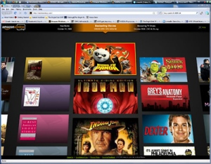 Amazon Windowshop iPad