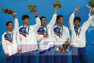 ทีมตะกร้อชายไทย